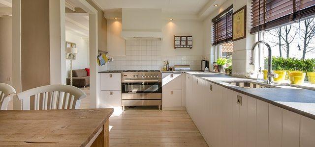 Uusi ihana keittiö uudessa kodissa