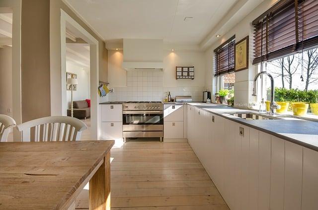 Keittiön valaistus ja suunnittelu