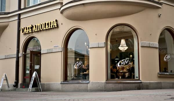 Aitoleipä kahvila logo